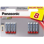 Panasonic Everyday Power alkáli AAA (R03) elem 8db blister