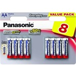Panasonic Everyday Power alkáli AA (R6) elem 8db blister