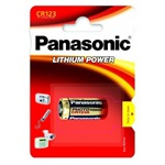 Panasonic Lithium Power CR123A Li-ion CR123 1400mAh elem 1db Blister