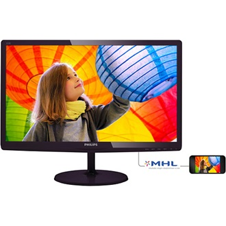 "Philips 227E6LDAD/00 21.5"" LED monitor fekete"