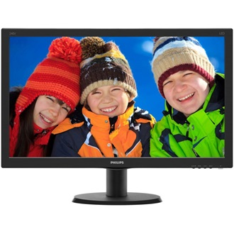"Philips 240V5QDAB 24"" IPS LED monitor fekete"