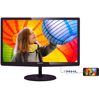 "Philips 247E6LDAD 23.6"" TN LED monitor fekete"