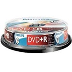 Philips DVD+R DVD lemez 4,7GB 10db hengeres