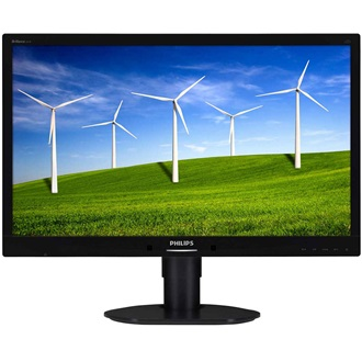 "Philips LED 24"" 241B4LPYCB Full HD, DVI, 5ms, speakers, black"