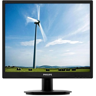 "Philips S-line 19S4LSB5/00 19"" LED, DVI,  black"
