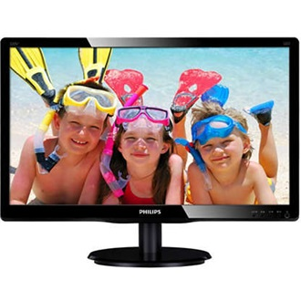 "Philips 220V4LSB/00 22"" TN LED monitor fekete"