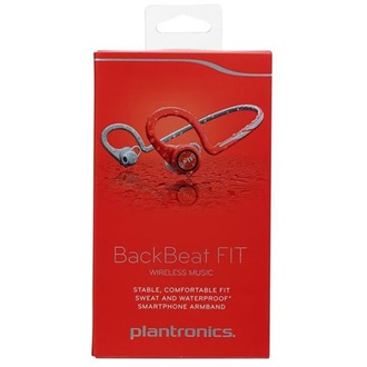 Plantronics BACKBEAT FIT/R,HEADSET,LAVA RED,E&A