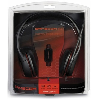Plantronics GAMECOM 318, PC HEADSET, W/GAME SpeedRunners
