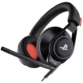 Plantronics RIG System, PS4, Headset, Black