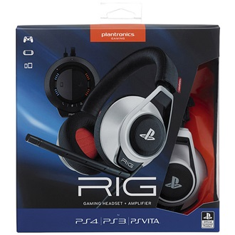 Plantronics RIG System, PS4, Headset, White