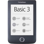"PocketBook Basic 3 6"" E-Ink Carta e-book olvasó szürke"