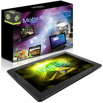 "Point of View Mobii 1325 13.3"" 8GB tablet fekete"