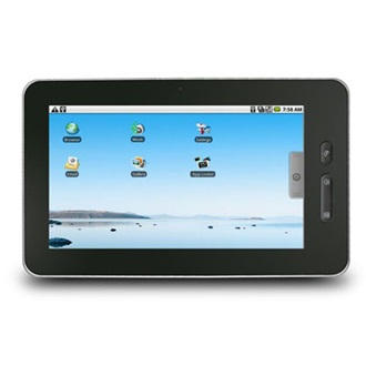 "Point of View Tablet PC G2 7"" LCD, 4GB, Webkamera, WiFi, Android 2.3 HU"
