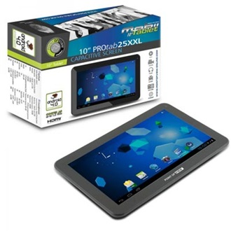 "Point of View Tablet PC ProTab 10"" LCD, WiFi, Webkamera, Android 4.0 HU"
