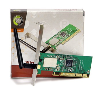 Point of View WLAN 11g PCI Adapter (54Mbps)