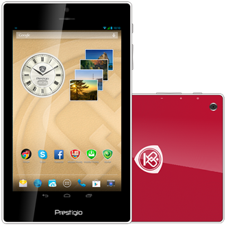 "Prestigio MultiPad Color 7"" 16GB 3G tablet piros"