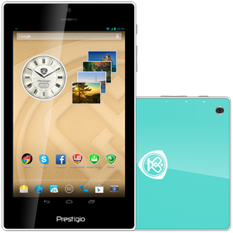 "Prestigio MultiPad Color 7"" 16GB 3G tablet zöld"