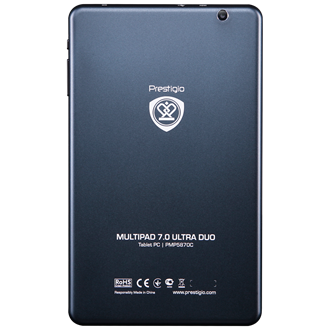 "Prestigio MultiPad 7.0 Ultra Duo 7"" 8GB tablet fekete"