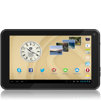 "Prestigio MultiPad 7.0 Ultra+ 7"" 4GB tablet fekete"