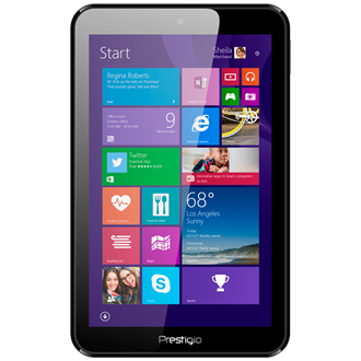 "Prestigio MultiPad Visconte 8"" 16GB tablet fekete"