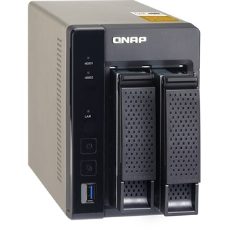 QNAP TS-253A-4G 2BAY 1.6 GHZ QC 4GB 2XGBE 4XUSB3.0