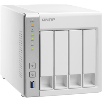 QNAP TS-431+ 4BAY 1.4 GHZ DC 2X GBE 1 GB 3X USB 3.0
