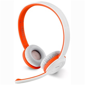 RAPOO H8030 stereo headset piros