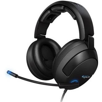 Roccat Kave Solid 5.1 headset fekete