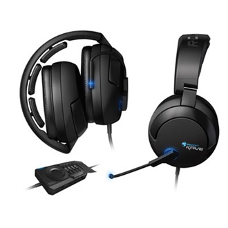 Roccat Kave 5.1 headset fekete