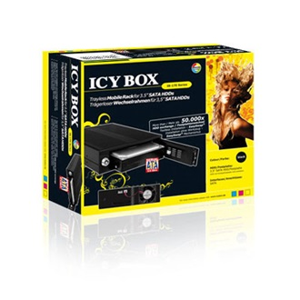 RaidSonic ICY BOX Mobile Rack IB-170SK-B, SATA,  fekete