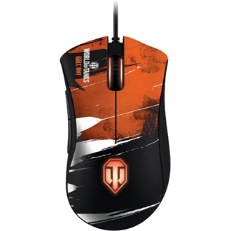 Razer Deathadder World of Tanks USB gamer egér