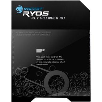 Roccat Key Silencer Kit fekete