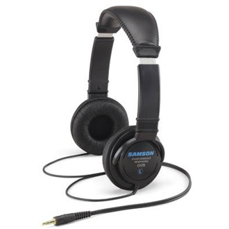 SAMSON CH70 Studio Reference Headphones | 40mm drivers | 32 ohms