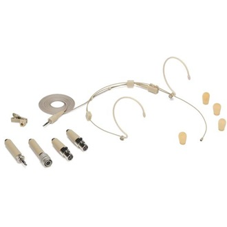 SAMSON DE50 beige Omnidirectional Headworn Microphone | windscreens | clip |case
