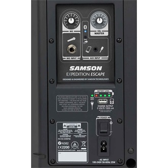 SAMSON Expedition Escape Rechargeable Battery Speaker | 6"