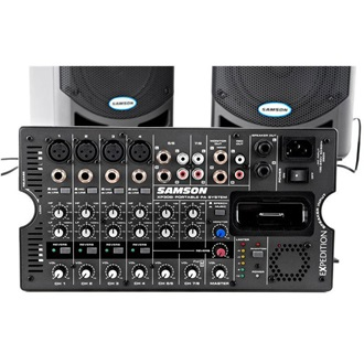 SAMSON Expedition XP308i Portable PA | 8"