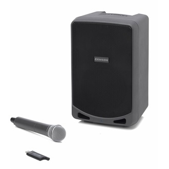 SAMSON Expedition XP106w Rechargeable Battery Speaker | XPD1 | 4.6kg | Bluetooth