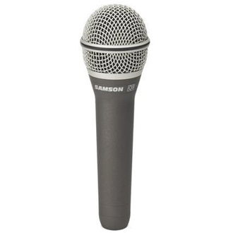SAMSON Q8 XLR professional vocal microphone | supercardioid | carry case