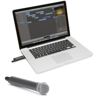 SAMSON Stage XPD1 USB Digital Wireless System with handheld microphone (2.4GHz)