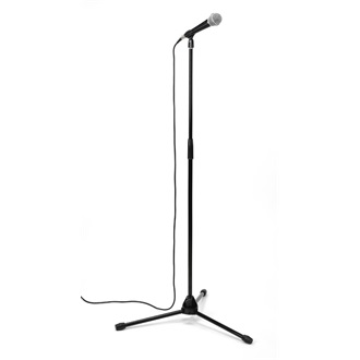 SAMSON VP1 Microphone Value Pack | mic R21 | Boom Stand | Microphone Cable