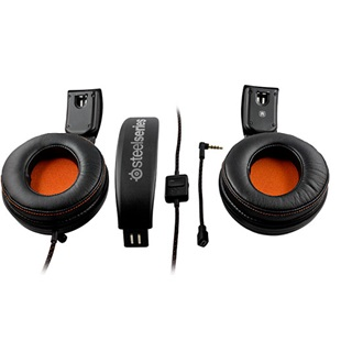 Steelseries 9H 7.1 headset fekete