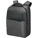 "Samsonite Qibyte Laptop Backpack 15,6"" notebook hátizsák szürke"