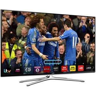 "Samsung Full HD 3D LED Smart TV UE60H6200AK 60"" (152 cm), 200 Hz, 1920 x 1080, 4xHDMI, 3xUSB, LAN, DVB-T / C, fekete"