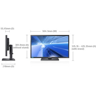 "SAMSUNG S22C450B 21.5"" TN LED monitor fekete"