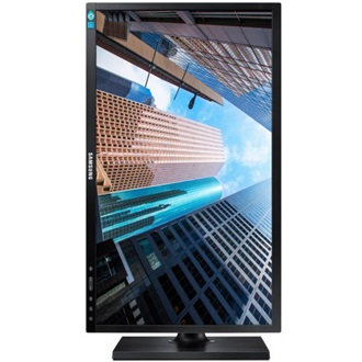 "Samsung S24E450B 24"" TN LED monitor fekete"