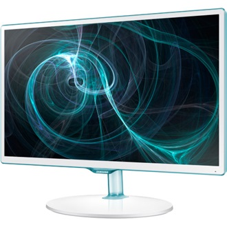 "Samsung T24D391EW 23.6"" PLS LED monitor-TV fehér"
