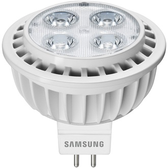 Samsung led izzó 40W+ Eq MR16 7W 420lm 2700K GU5.3 40D
