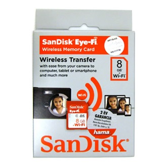 SanDisk EYE-Fi Secure Digital HC (SDHC) 8GB (Class4)
