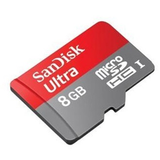 Sandisk 8GB Mobile Ultra Multi-Kit+Android APP  Class 10 microSDHC memóriakártya