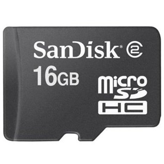 Sandisk Micro Secure Digital HC (SDHC, Class 4) Mobile Ultra 16GB